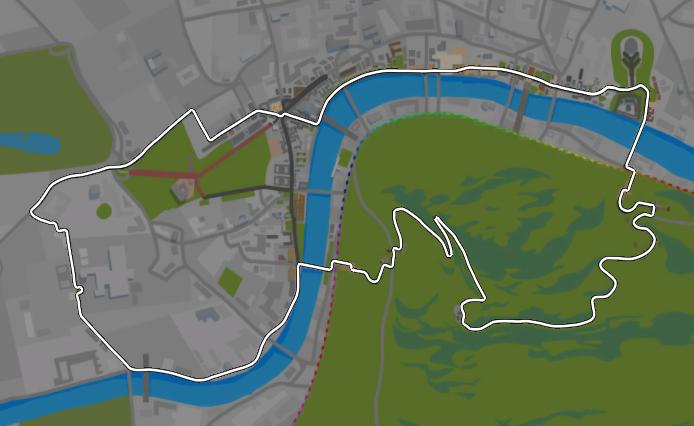 Greater London Loop in ZwiftMap – ZwiftHacks