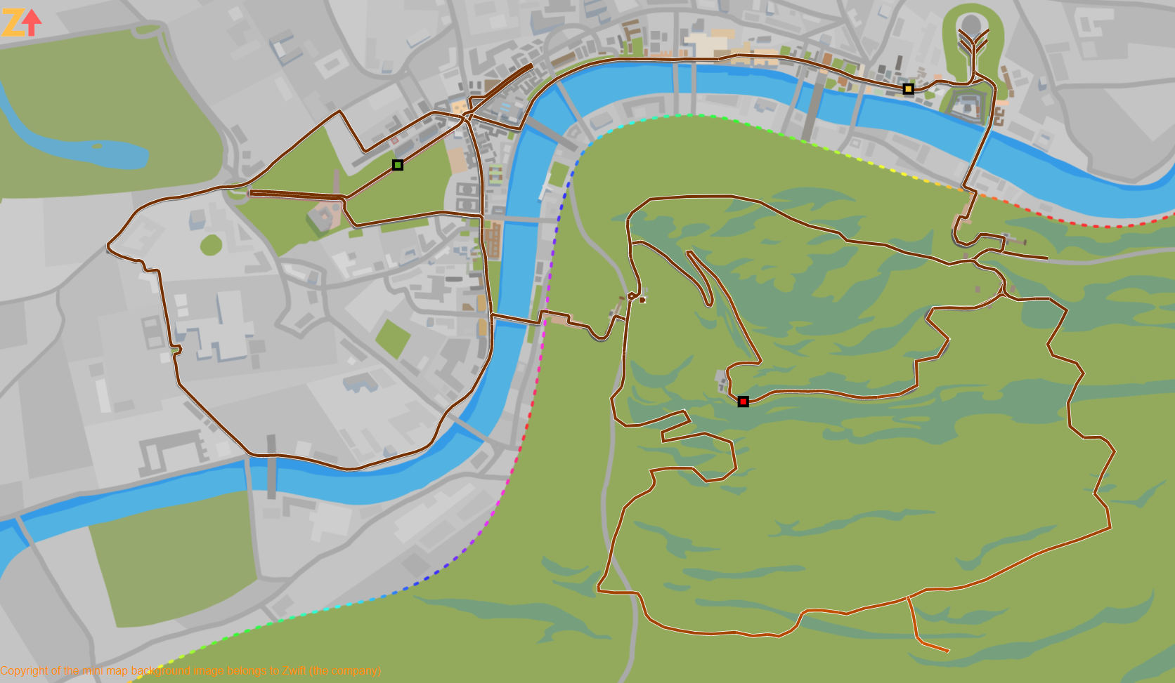 ZwiftMap updated with new London routes – ZwiftHacks