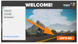Changes to the Zwift launcher, changes to zwift-login