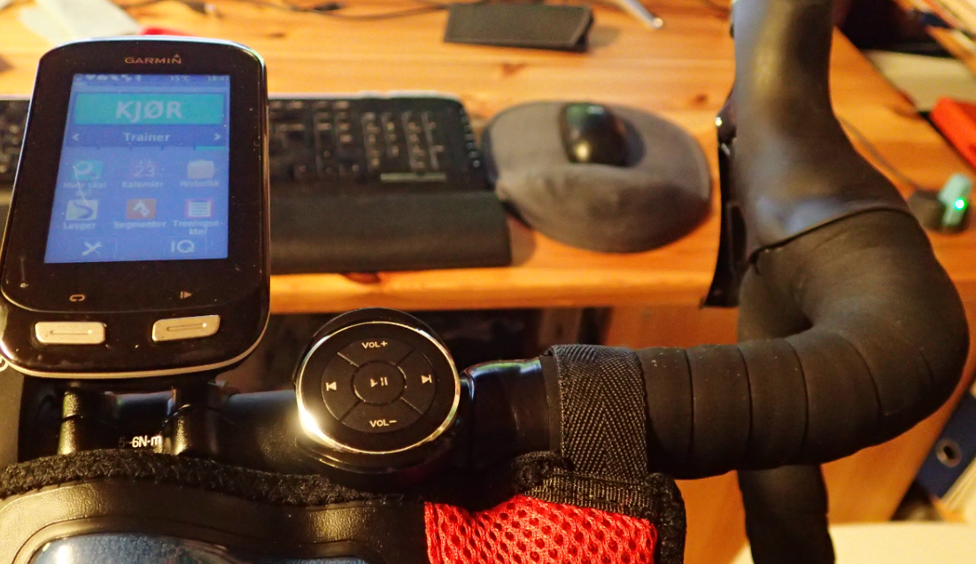 How to use a $10 Bluetooth Media Button as a handlebar
