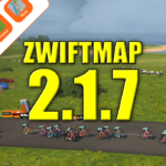 All worlds are supported by ZwiftGPS – and in ZwiftMap