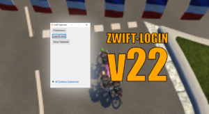 Ignore the script error in Zwift's launcher with zwift-login