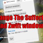 Arrange The Sufferfest and Zwift windows